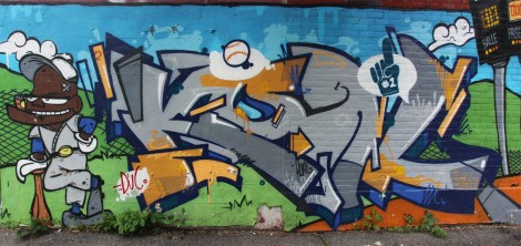 Koal piece in centre-sud also featuring a character by Astro