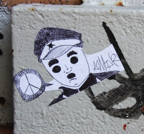 small paste-up by Amir