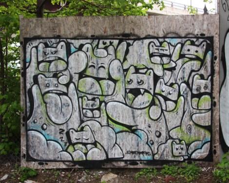 El Moot Moot mural in Mile End