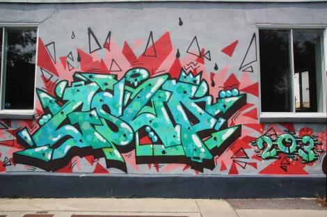 Gsup graffiti in NDG