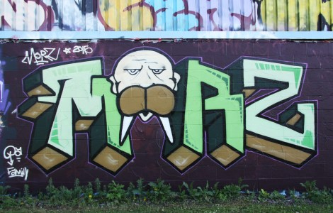Morz graffiti
