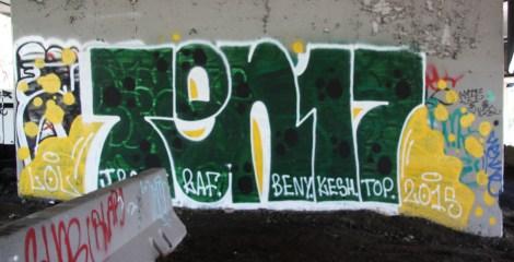 Piece by the 1017 crew under expressway