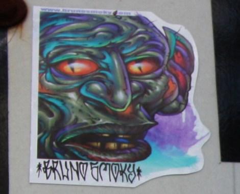 Bruno Smoky sticker