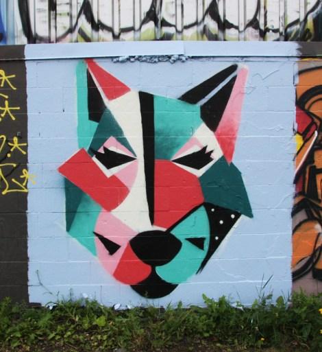 Unidentified artist in Rosemont