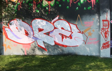 Dré at the 2015 Lachine graffiti jam