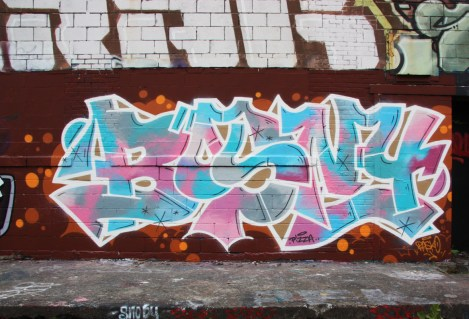 Bosny's name done by Pask