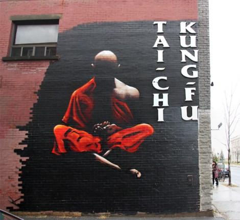 mural by Axe in Ahuntsic
