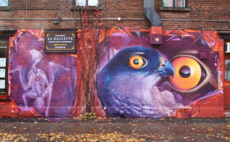Monk.e mural in the Plateau