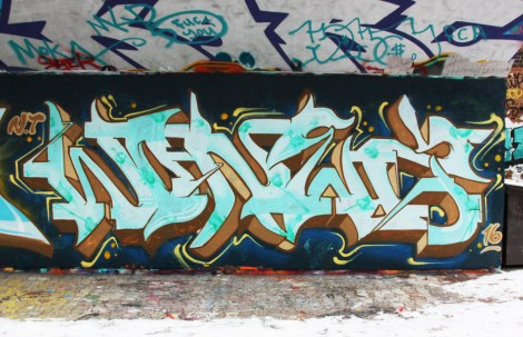 Wonez at the PSC legal graffiti wall