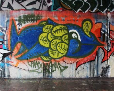 Waxhead at the Rouen legal graffiti wall