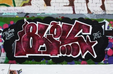 Blek piece in Rosemont