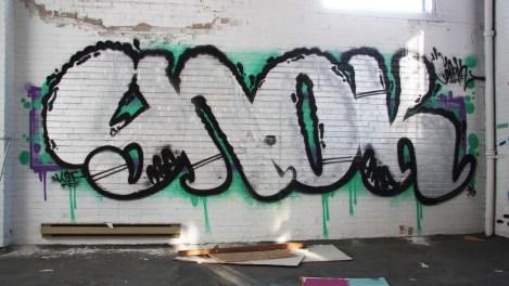 Snok on the abandoned Transco's 2nd floor