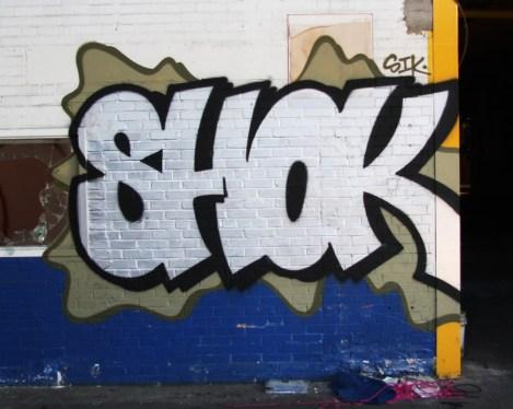 Shok in the abandoned Transco's blue room