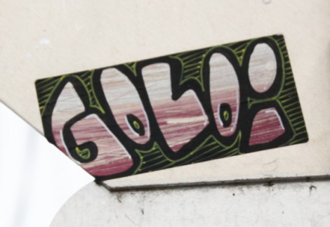 handmade sticker by Golo aka Gaulois
