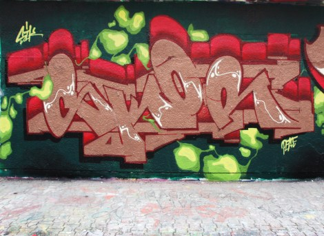 Skor copper at the PSC legal graffiti wall