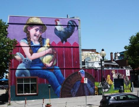 Natalia Rak for the 2016 edition of Mural Festival