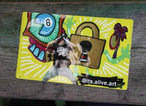 It's Alive sticker