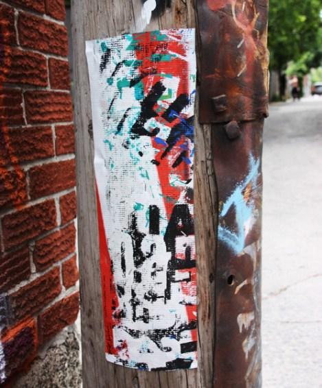 painted tarp or canvas stripe by Ryan The Wheelbarrow
