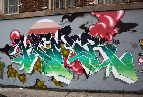 Kemr on a 123Klan wall in the Plateau