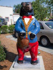Courier Bear. He has a Blackbeary