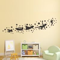 Peter pan wall decal removable vinyl sticker mural ...