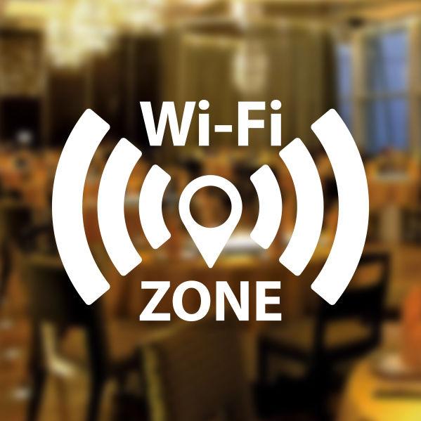 free wifi zone window