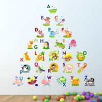 Alphabet Wall Sticker Learning letters kids room decal ...