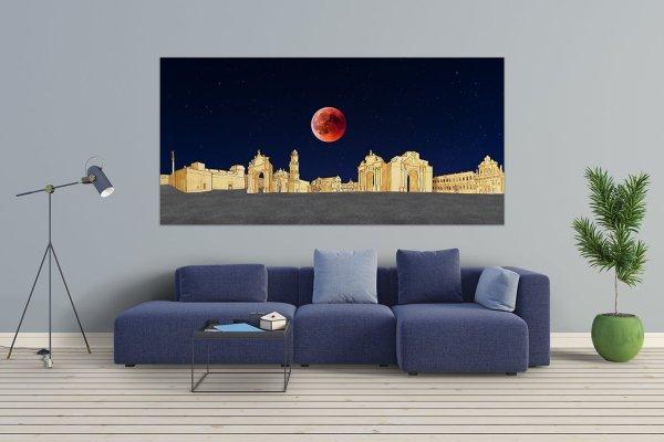 Luna Rossa Canvas su tela Wallab