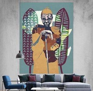 Africa Canvas