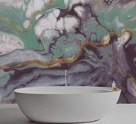 Wallab Organic Marble Affresco Customizable