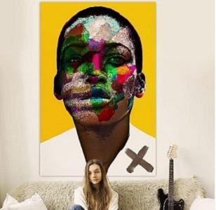 Color Face Canvas