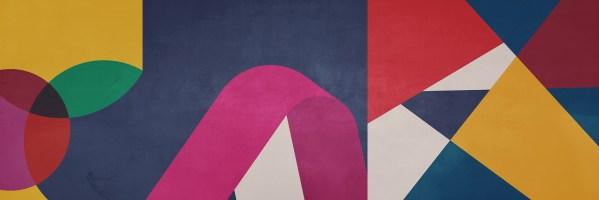 Diagonale Tape Wallpaper