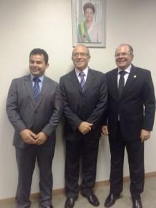 Eric Costa, Eliseu Padilha e Hildo Rocha