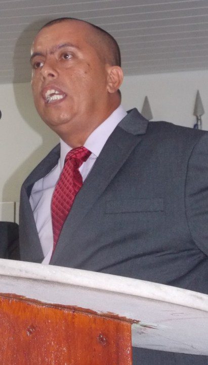 Vereador Luiz Carlos Barros de Oliveira, o Kiko.