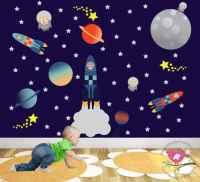 Space Wall Stickers - Wall Art Kids