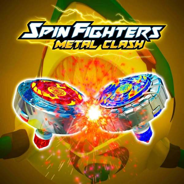 Spin fighters logo de Wallatoys