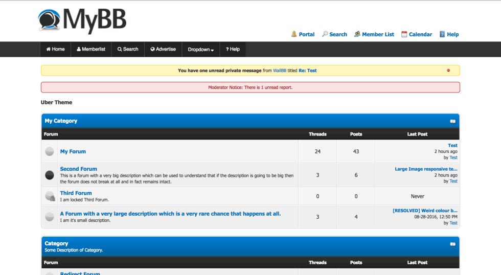 Responsive menu mybb desktop