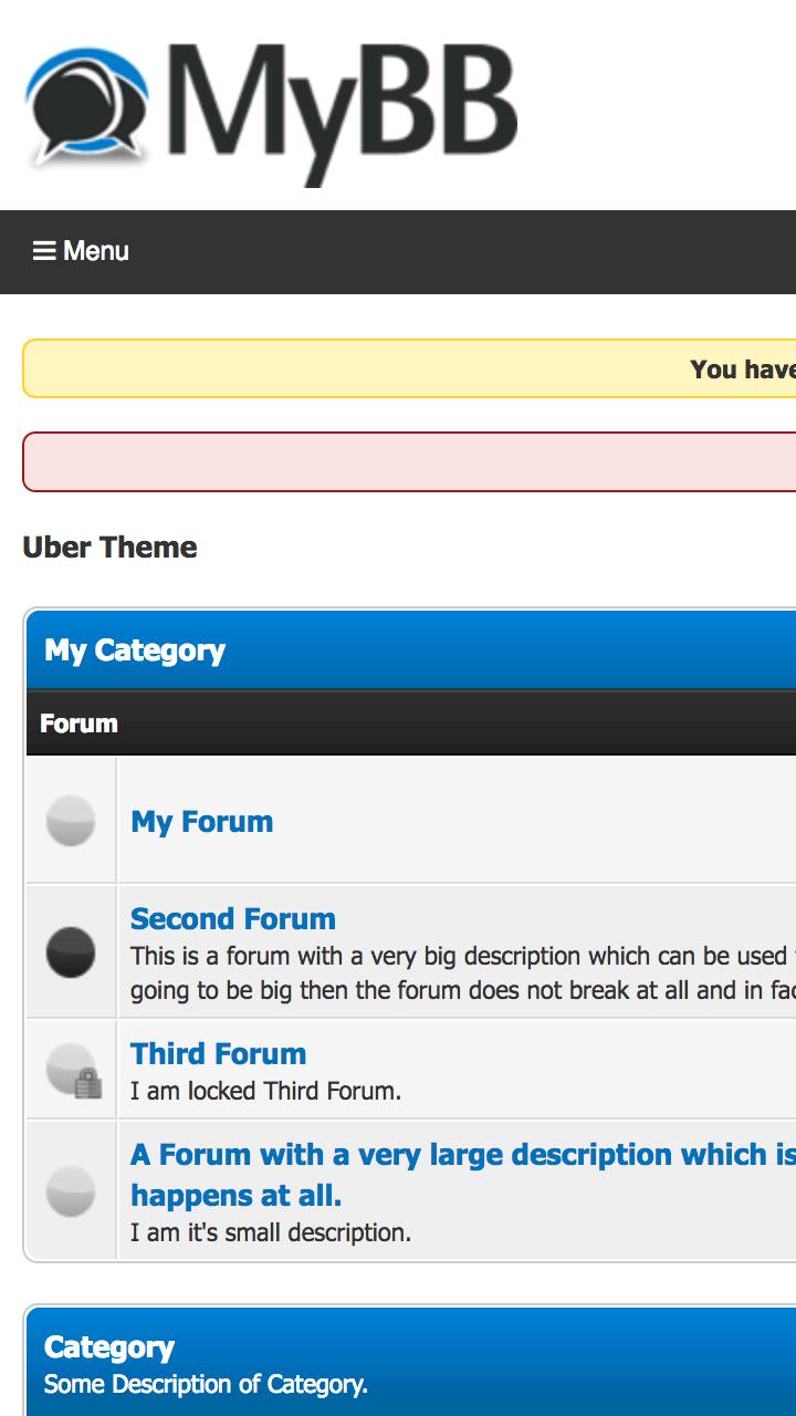 how to create responsive menu