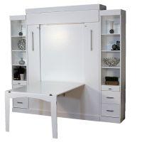 Euro Table Murphy Bed | Hidden Desk & Wall Bed | Euro ...