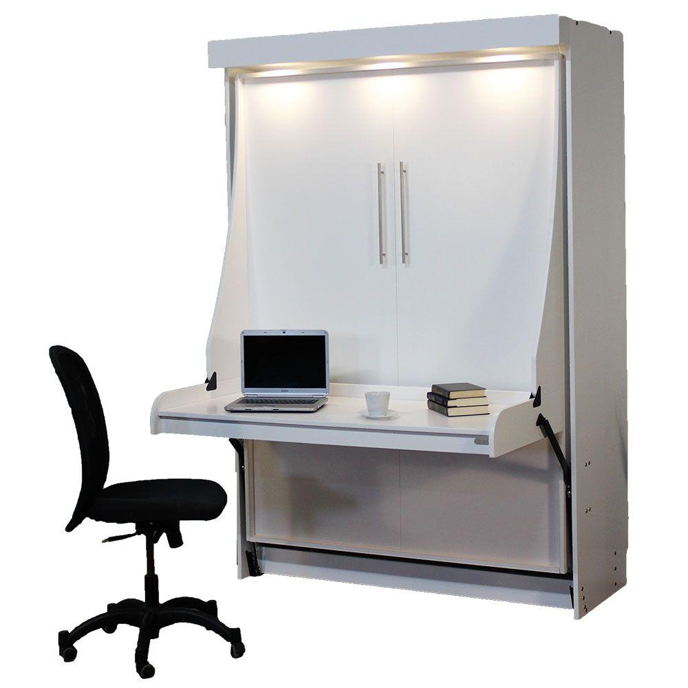 Euro Desk Murphy Bed