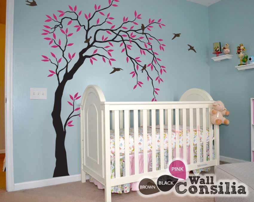 wall tree decoration for nursery