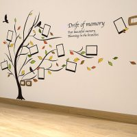 Photo Frame Family Tree Wall Stickers