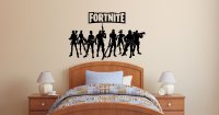 Fortnite wall decals stickers   gamer wall stickers   wall ...