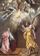 L'annunciazione El Greco