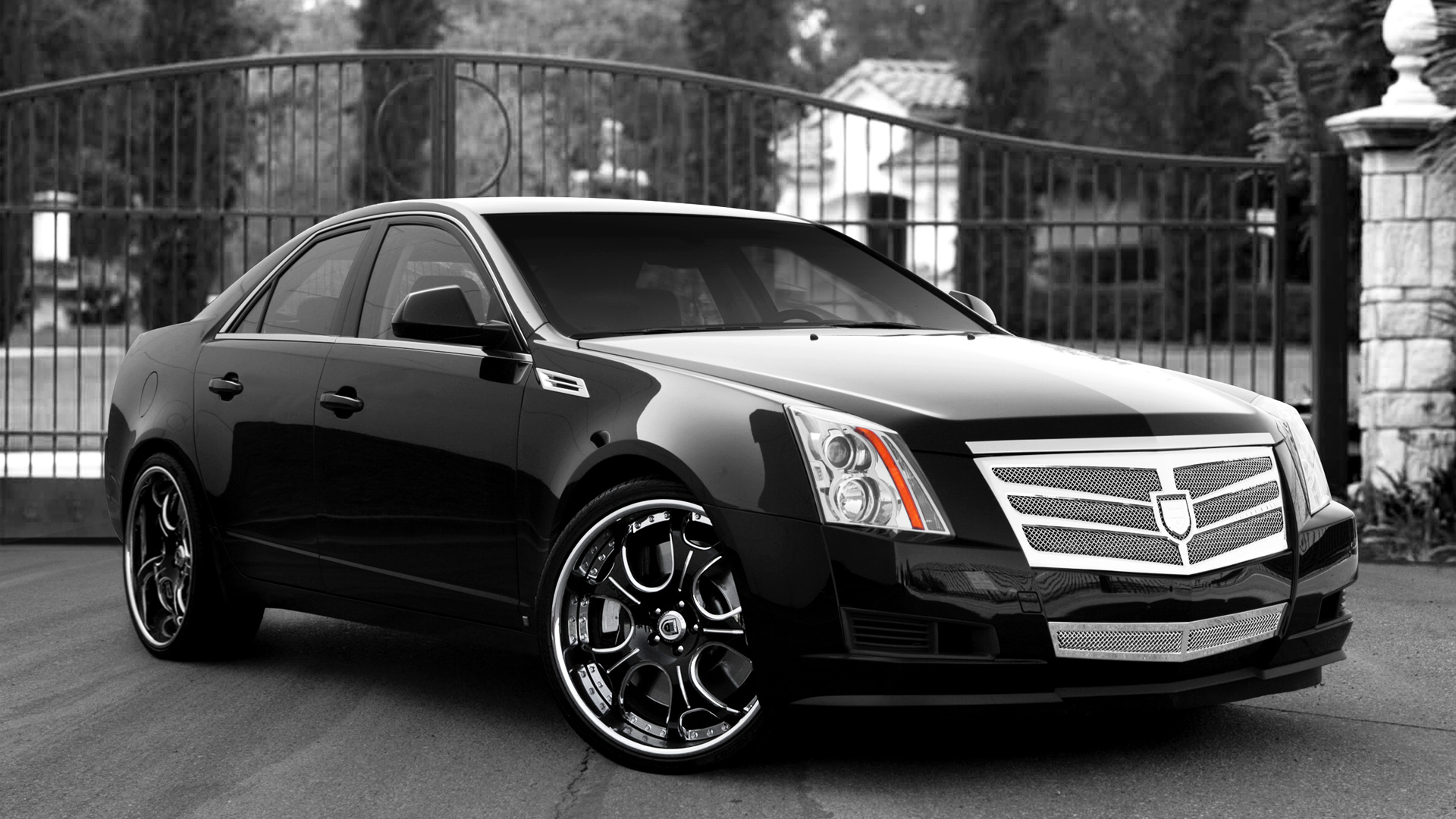 Download Muscle Cars Hd Wallpapers Cadillac Cts Wallpaper High Definition 1542 Wallpaper