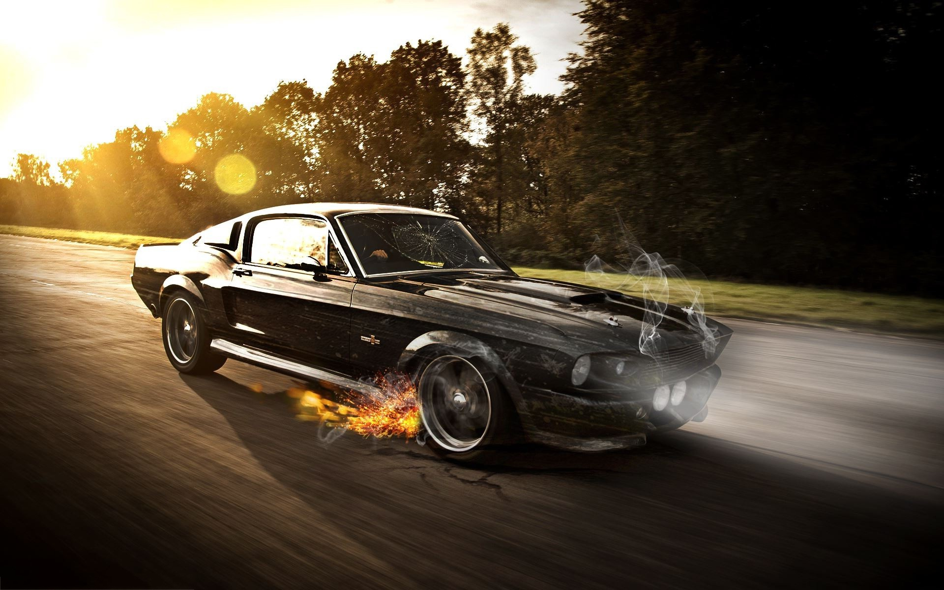 4k Car Wallpaper Mustang 1960 Mustang Shelby Wallpaper Photoshop 1253 Wallpaper