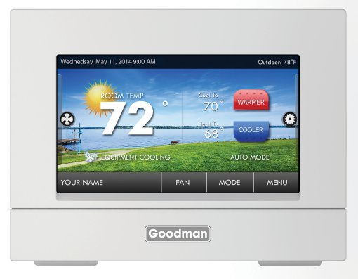 Goodman Touch Screen Thermostat