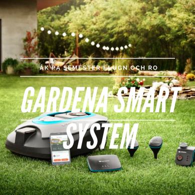 Lämna trädgården i Gardenas trygghet