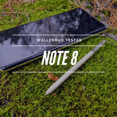 Wallenrud testar Samsung Galaxy Note 8
