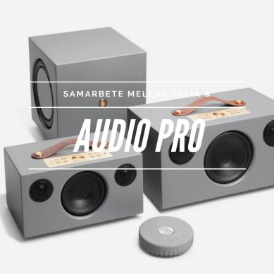 Audio Pro i nytt samarbete med Telia
